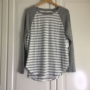 🍉2 for $30🍉 Old Navy Striped Plush Long Sleeve
